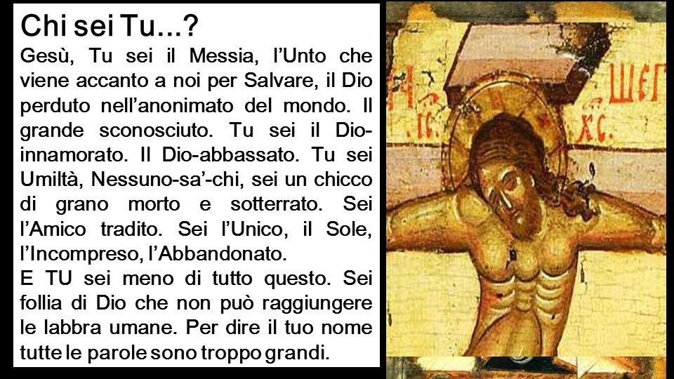 Pietro rispose: «Il Cristo di Dio».