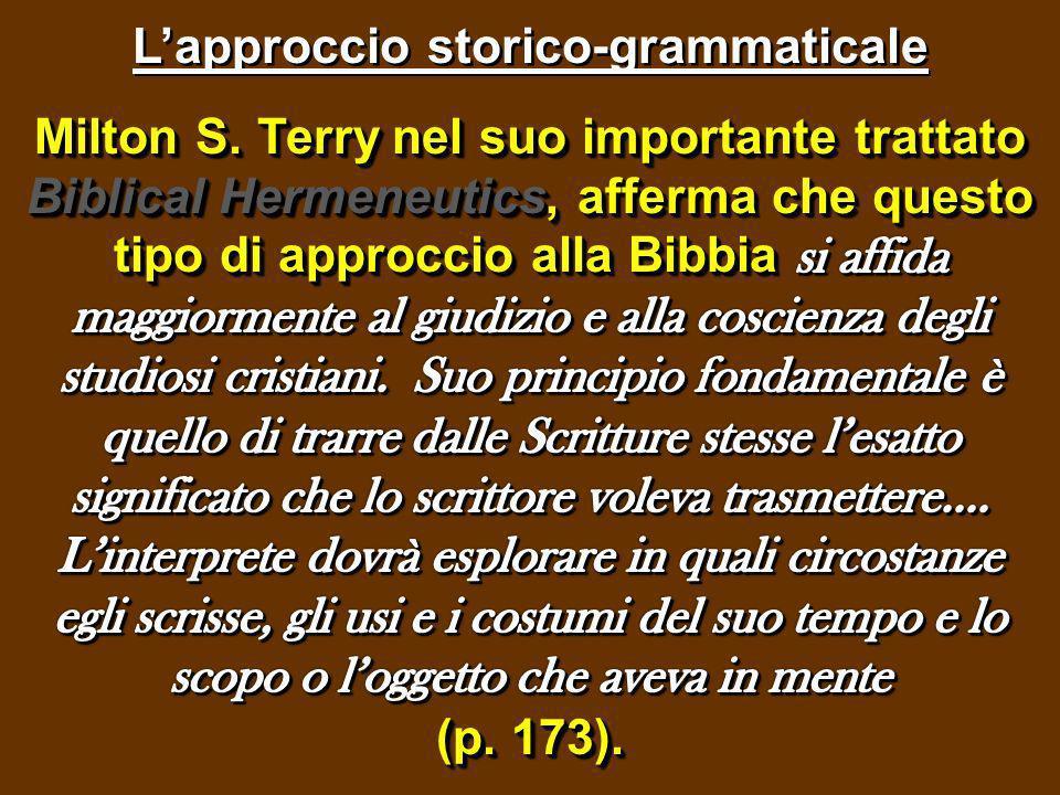 Come Terry ha giustamente scritto, le Scritture dellAntico e del Nuovo Testamento sono un mondo a sè.