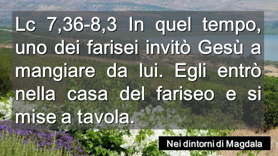 Per questo io ti dico: sono perdonati i suoi molti peccati, perché ha molto amato.