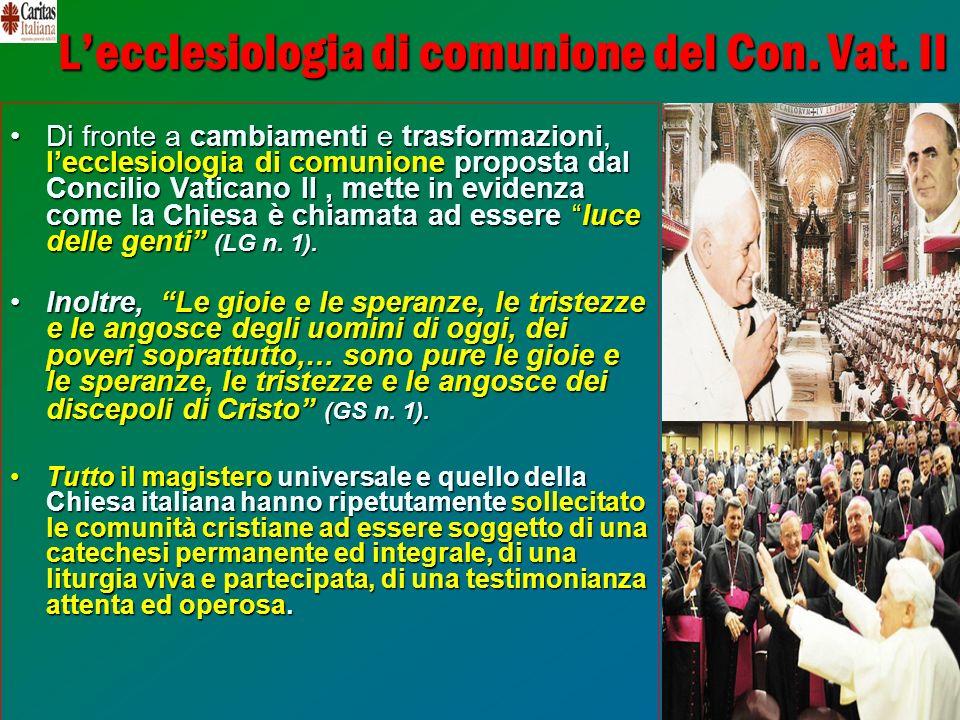 7 Lecclesiologia di comunione del Con. Vat.
