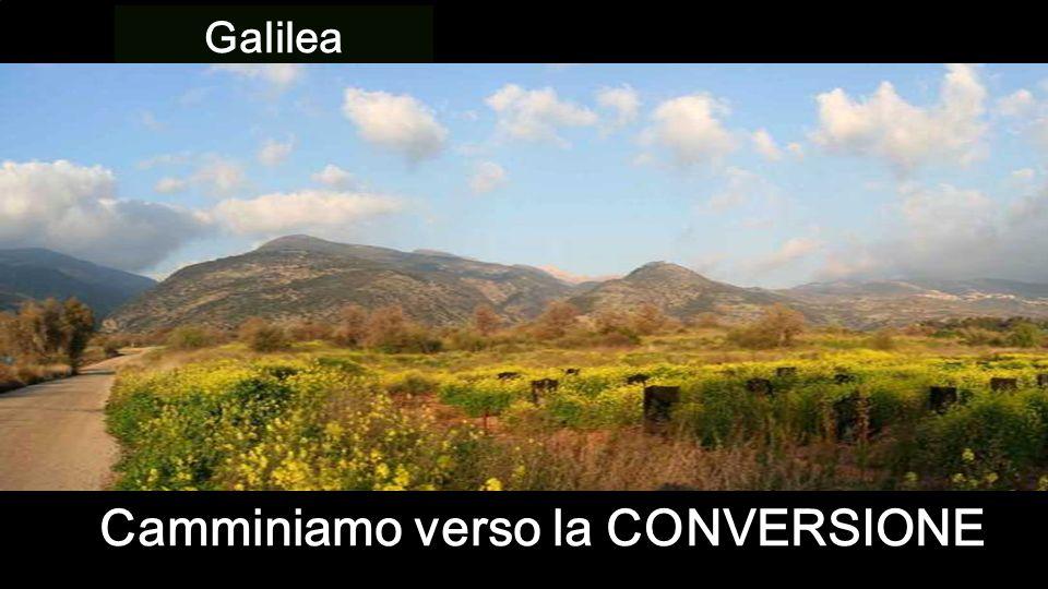 Galilea Camminiamo verso la CONVERSIONE