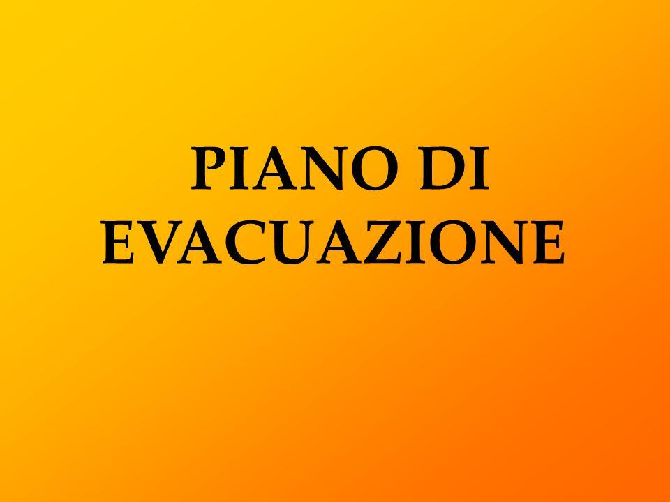 PIANO DI EVACUAZIONE