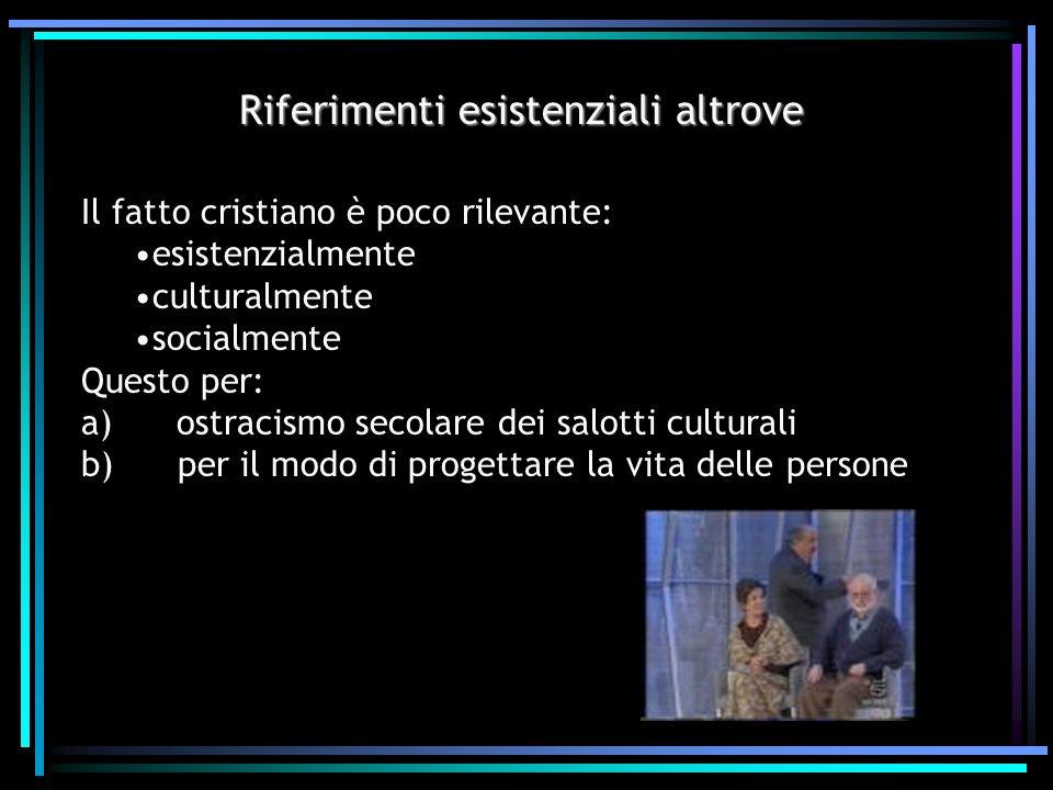 Firenze 13/gennaio/2004 La nuova evangelizzazione richiede uno sforzo lucido, serio e ordinato per evangelizzare la cultura (Ecclesia in America, n°70)