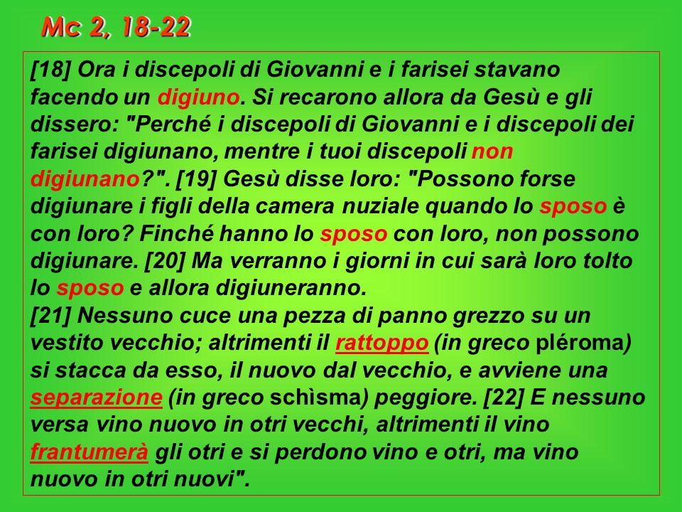 Dalle lettere di San Girolamo (22,37) Digiuno incompleto Se digiuni due giorni, non ti credere per questo migliore di chi non ha digiunato.