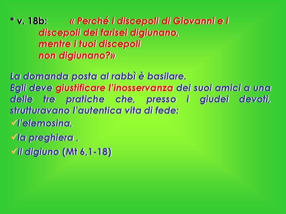 Il digiuno è un tratto distintivo dellessere ebrei, un caposaldo per la conservazione dellidentità, tanto più in una terra mista come la Galilea delle Genti.
