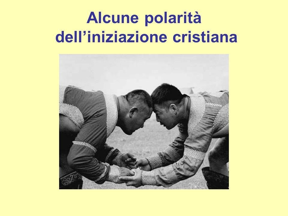Alcune polarità delliniziazione cristiana