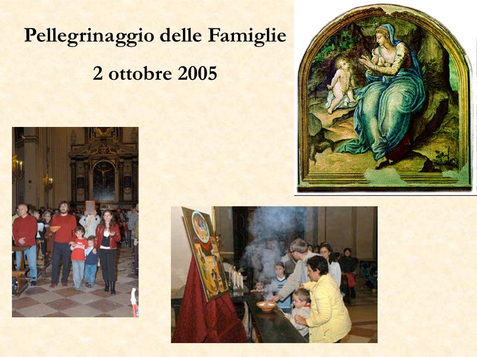 Pellegrinaggio delle Famiglie 2 ottobre 2005