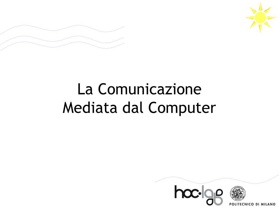 Obiettivi e fonti > Presentare alcune caratteristiche salienti del testo elettronico e della comunicazione mediata da computer > Mostrare come la comunicazione sia una componente essenziale della creazione e gestione di contenuti digitali Cantoni L., N.