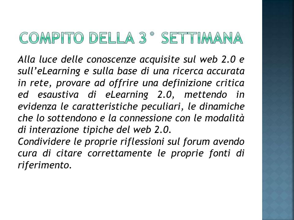 Per e-learning, in italiano teledidattica si intende la possibilità di imparare sfruttando la rete internet e la diffusione di informazioni a distanza.