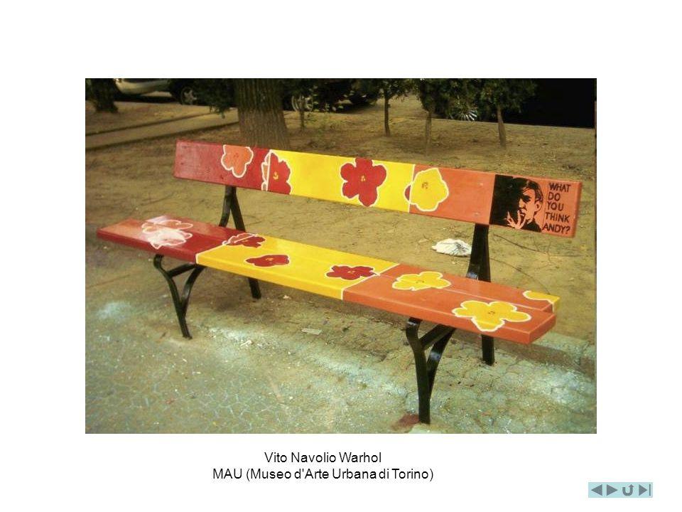Vito Navolio Warhol MAU (Museo d Arte Urbana di Torino)