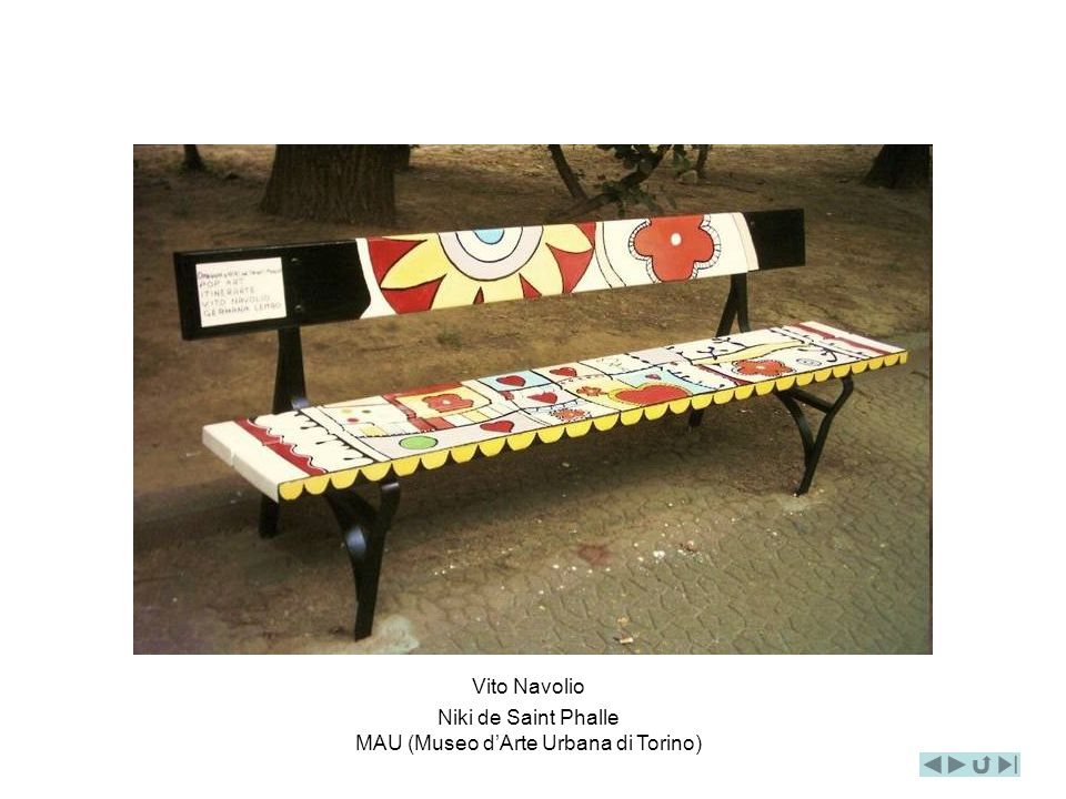 Vito Navolio Niki de Saint Phalle MAU (Museo dArte Urbana di Torino)