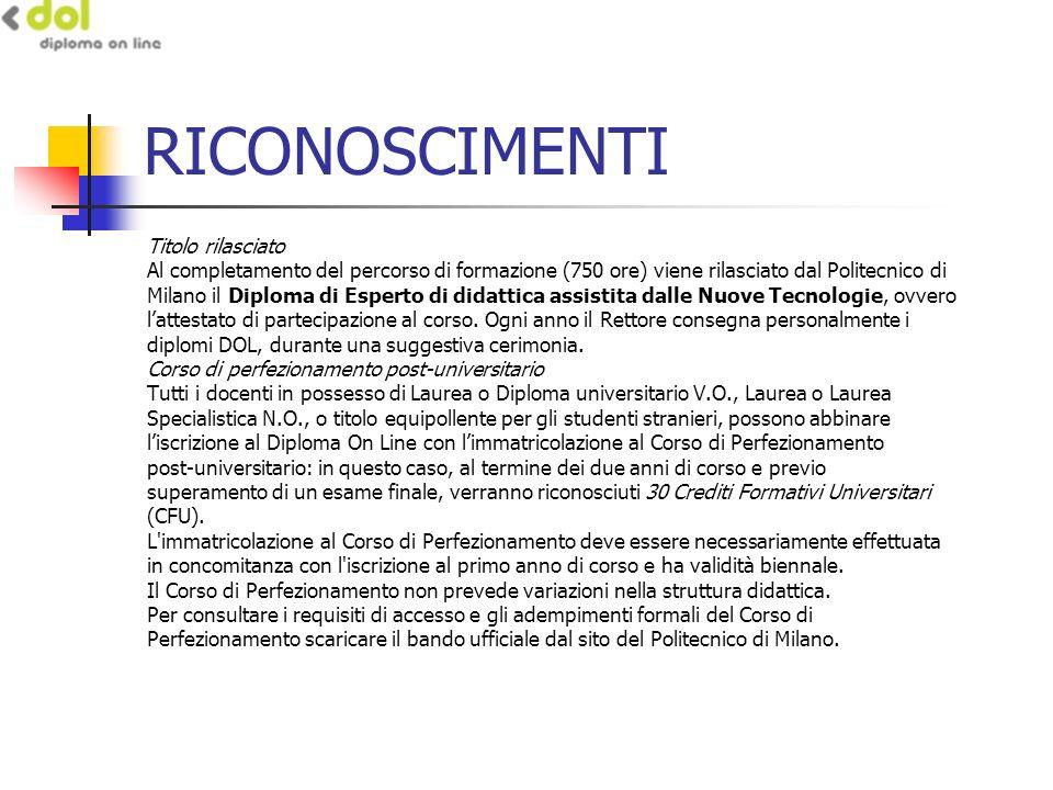 COSTI La quota annuale di iscrizione al Diploma On Line è di 890 euro.