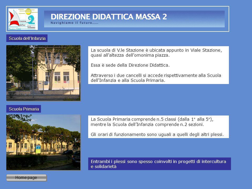 Home page La scuola di V.le Stazione è ubicata appunto in Viale Stazione, quasi all'altezza dell'omonima piazza. Essa è sede della Direzione Didattica