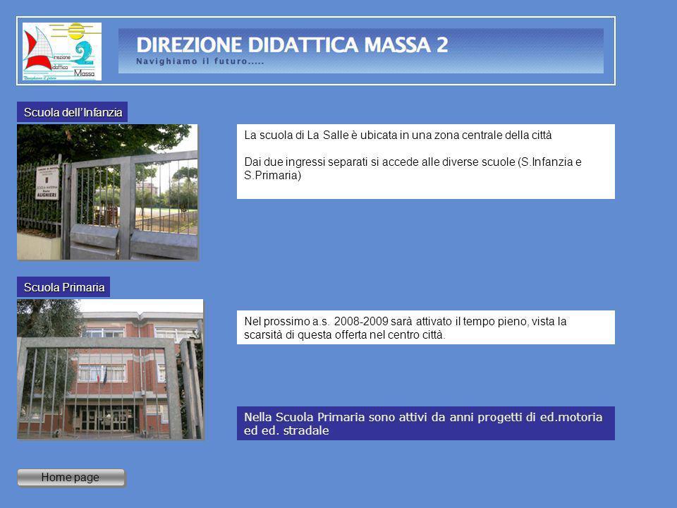 Home page La scuola di La Salle è ubicata in una zona centrale della città Dai due ingressi separati si accede alle diverse scuole (S.Infanzia e S.Pri