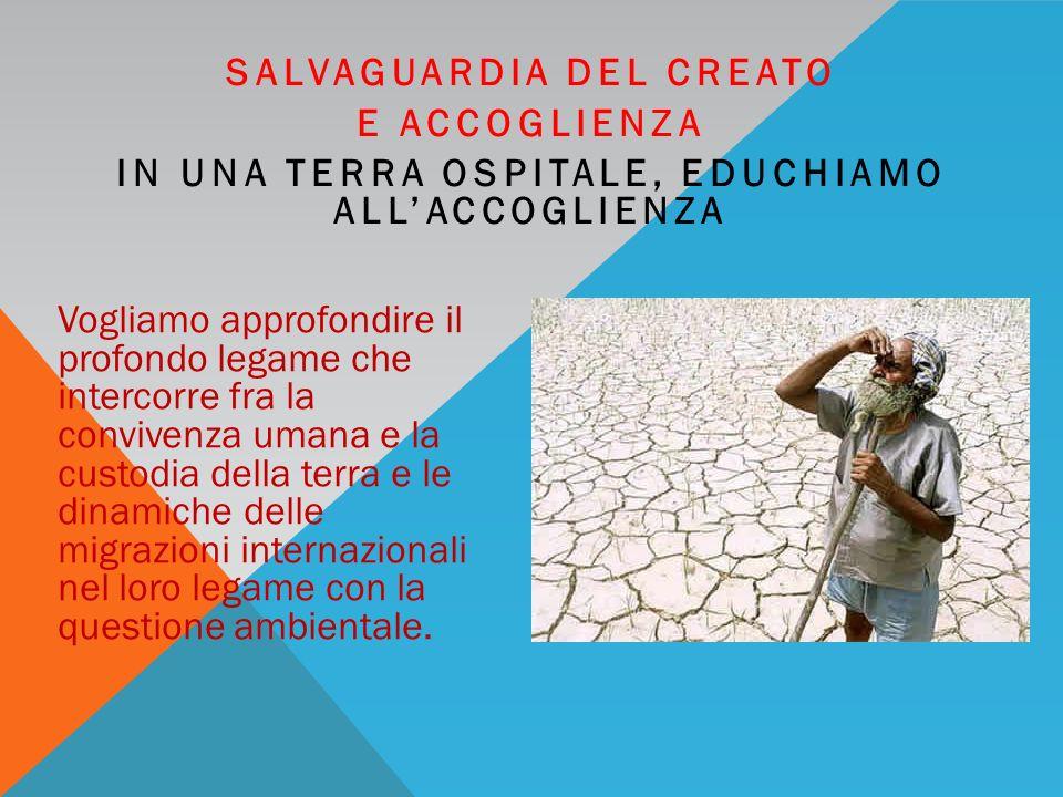 GIOVANI IDEE PER IL TERRITORIO SETTIMANA ACCOGLIENZA CREATO SCIENZA PROGRESSO 16/21 APRILE 2012