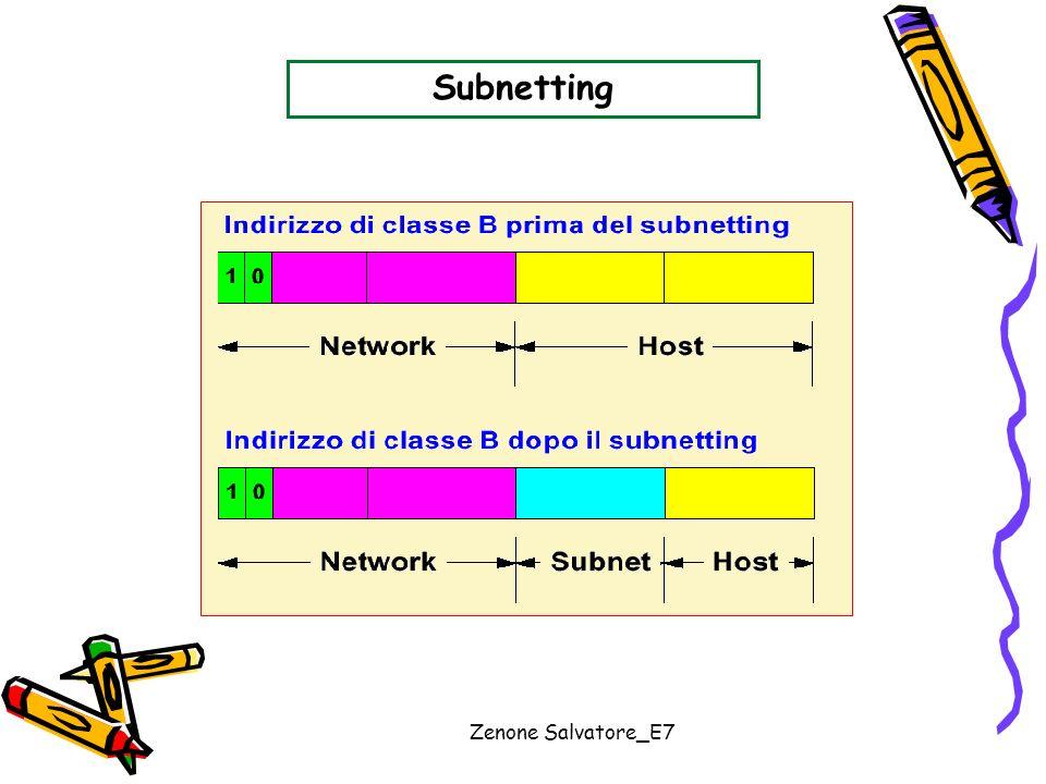 Zenone Salvatore_E7 Subnetting