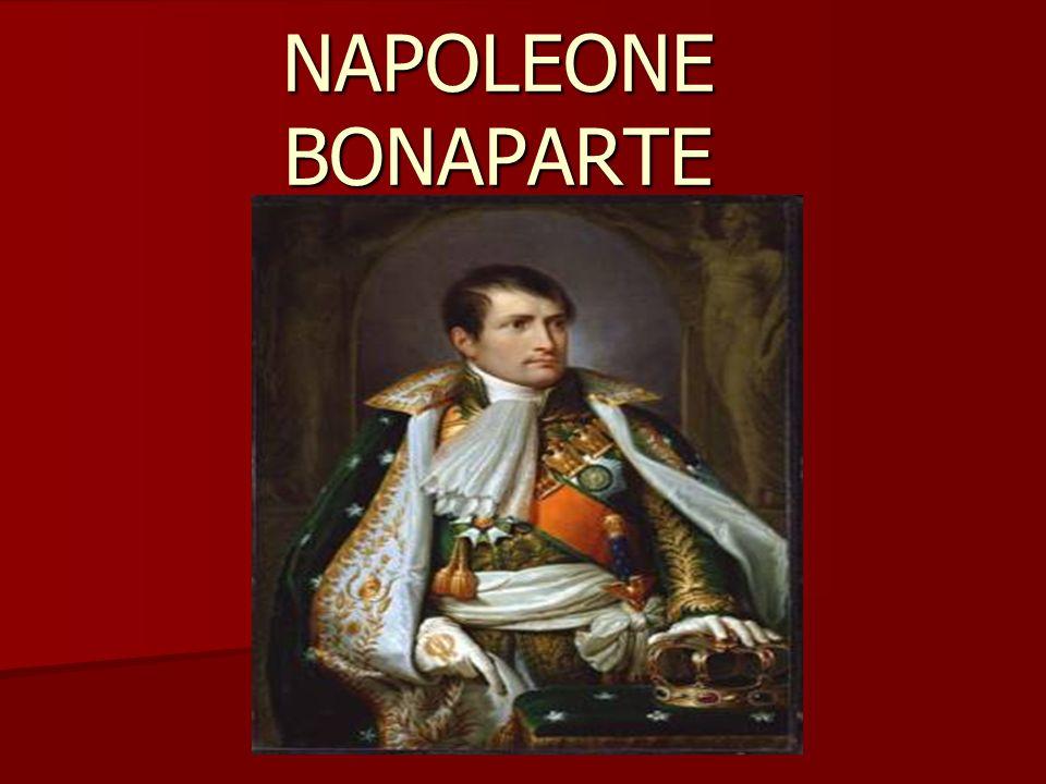 Il giovane Bonaparte Aveva studiato all accademia regia militare francese, disprezzava i ragazzi che appartenevano alla migliore nobiltà di Francia, che idolatravano il re e che prendevano in giro il giovane ragazzo corso per il suo accento meridionale.