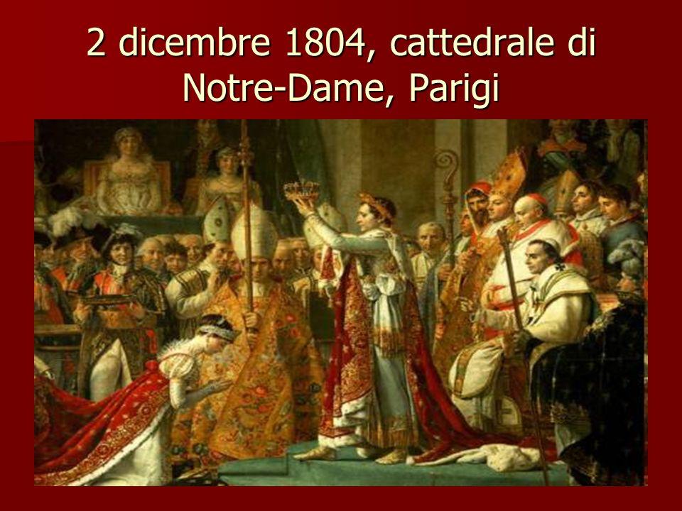 2 dicembre 1804, cattedrale di Notre-Dame, Parigi
