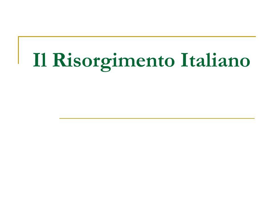 Cosa significa Risorgimento.