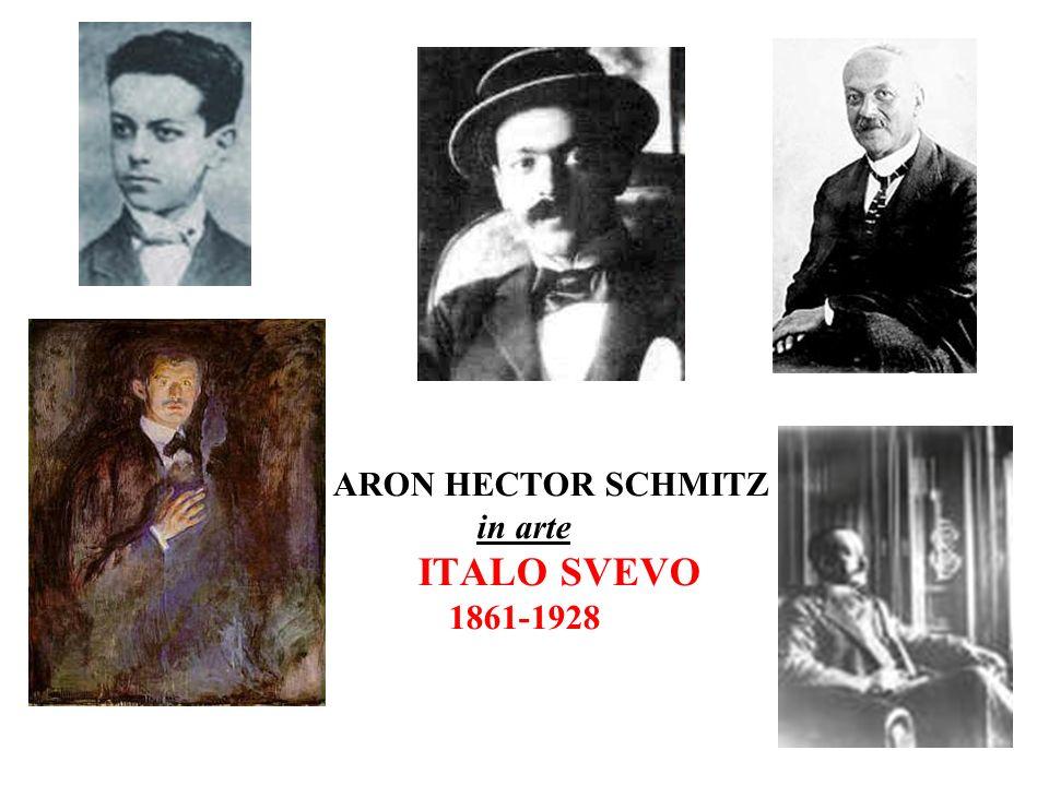 ARON HECTOR SCHMITZ in arte ITALO SVEVO 1861-1928