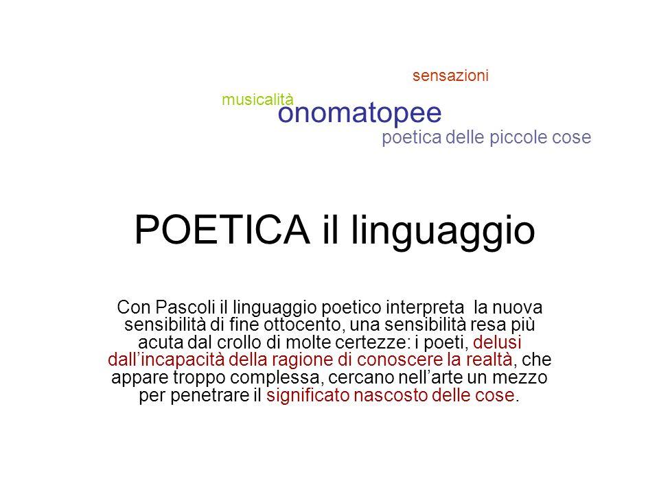 Pascoli poeta decadente Il Decadentismo è un movimento di pensiero profondamente diverso e per certi versi opposto al verismo.