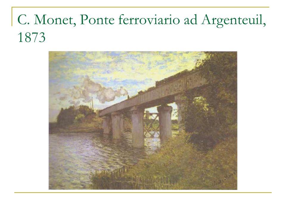 C. Monet, La stazione di St. Lazare, studi 1876-1877