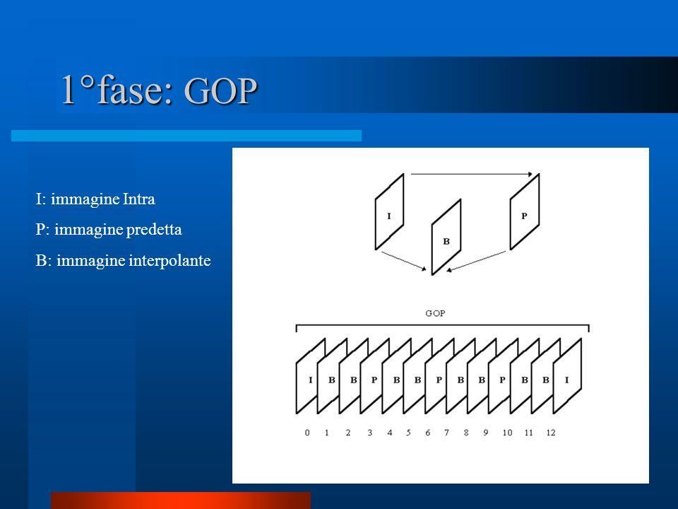 Schema di codifica 1° fase Codifica video 2° fase Codifica dellimmagine