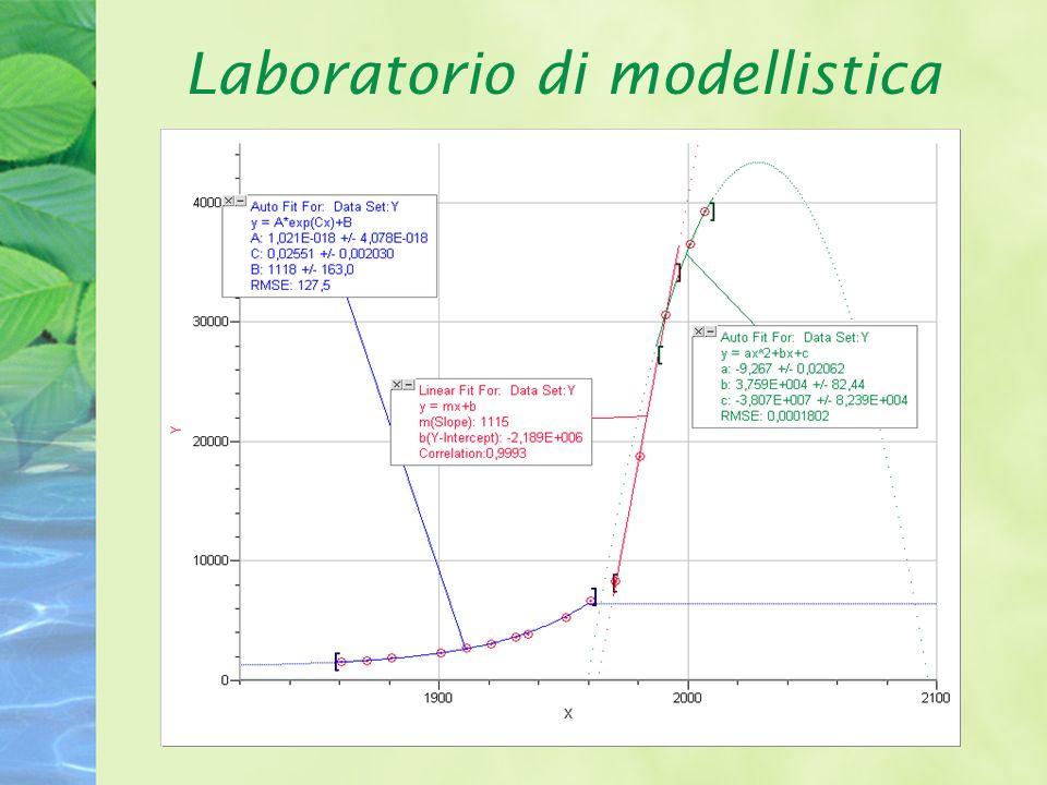 Laboratorio di modellistica