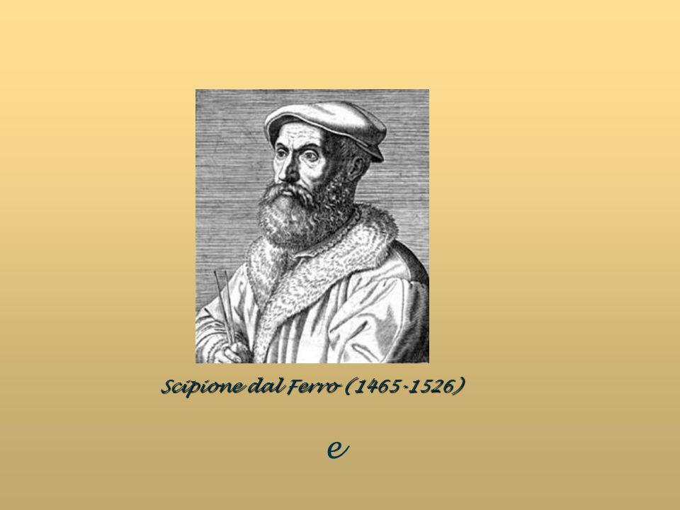 Scipione dal Ferro (1465-1526) e
