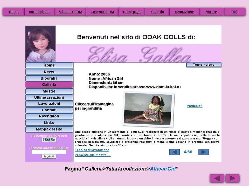 Pagina Galleria>Tutta la collezione>African Girl Home Schema C-IDM Schema L-IDM Homepage Esci Galleria Mostre Introduzione Lavorazione
