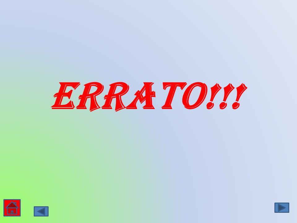 Errato!!!