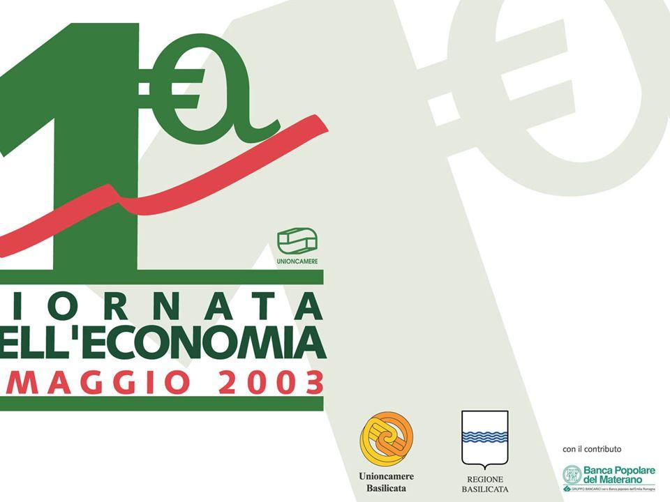 Leconomia lucana nel 2002 e le prospettive per il 2003 Centro Studi Unioncamere Basilicata Matera, 5 maggio 2003