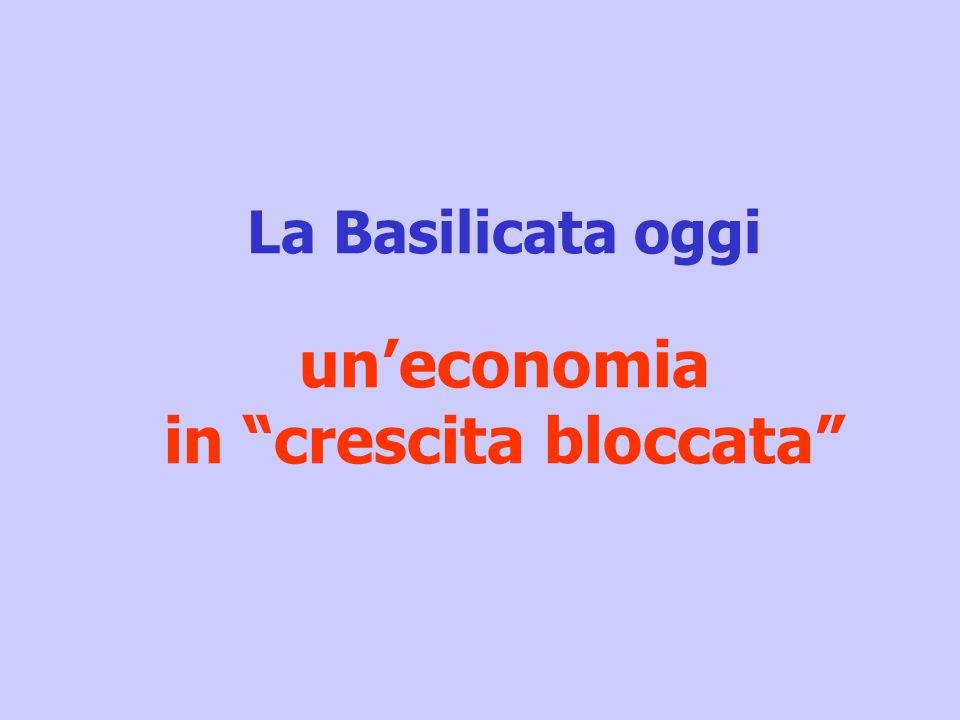 La Basilicata oggi uneconomia in crescita bloccata