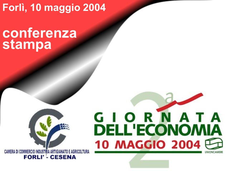 Dinamica economica andamento della produzione manifatturiera censimento 1991 e censimento 2001 a confronto 15,7% 16,7% 23,7% 20,3% 12,1% 7,8% ImpreseAddetti Forlì-CesenaEmilia-RomagnaItalia 1993199419951996199719981999200020012002200319931994199519961997199819992000200120022003