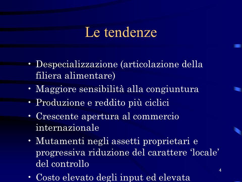 15 Rapporto Esportazioni/Importazioni (2000/2002) 1,03 1,46 1,01 2002200120001,031,01 Italia 1,501,48Nord-Est 1,231,12Parma Fonte: Unioncamere