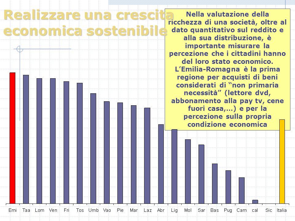 Nella valutazione della ricchezza di una società, oltre al dato quantitativo sul reddito e alla sua distribuzione, è importante misurare la percezione che i cittadini hanno del loro stato economico.
