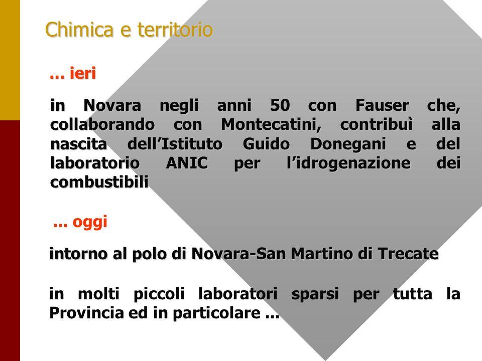 Il settore chimico nella Provincia di Novara Dipartimento di Scienze economiche e metodi quantitativi - Università del Piemonte Orientale di Stefano Zucca Marmo