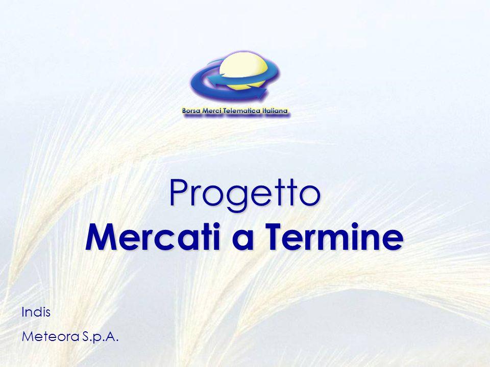 Progetto Mercati a Termine Indis Meteora S.p.A.