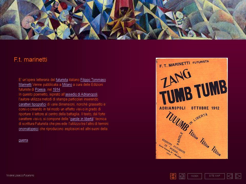 F.t. marinetti INDEX SITE MAP E un'opera letteraria del futurista italiano Filippo Tommaso Marinetti.Venne pubblicata a Milano a cura delle Edizioni f
