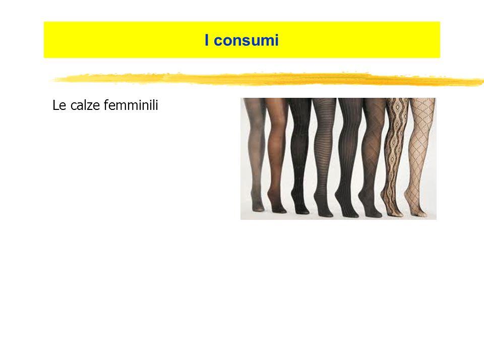 I consumi Le calze femminili