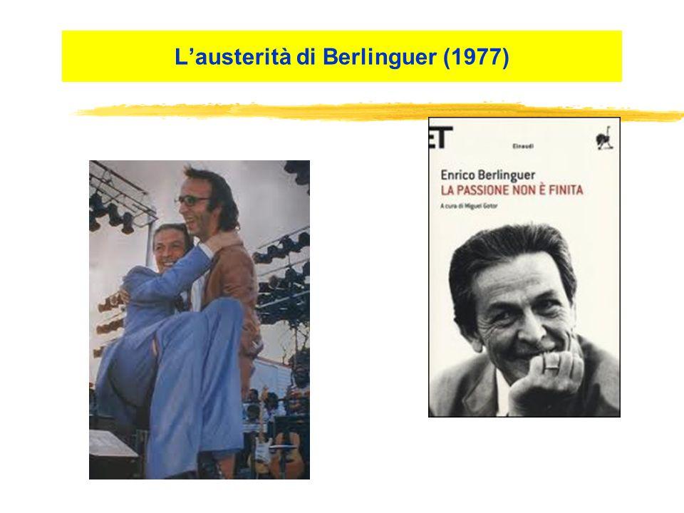 Lausterità di Berlinguer (1977)