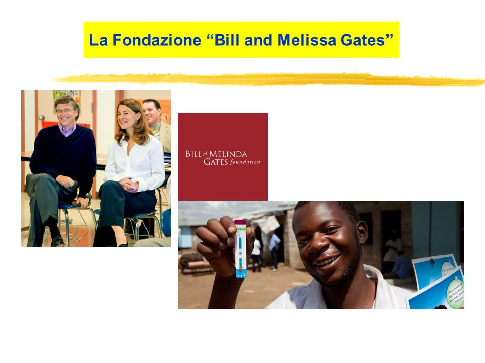 La Fondazione Bill and Melissa Gates