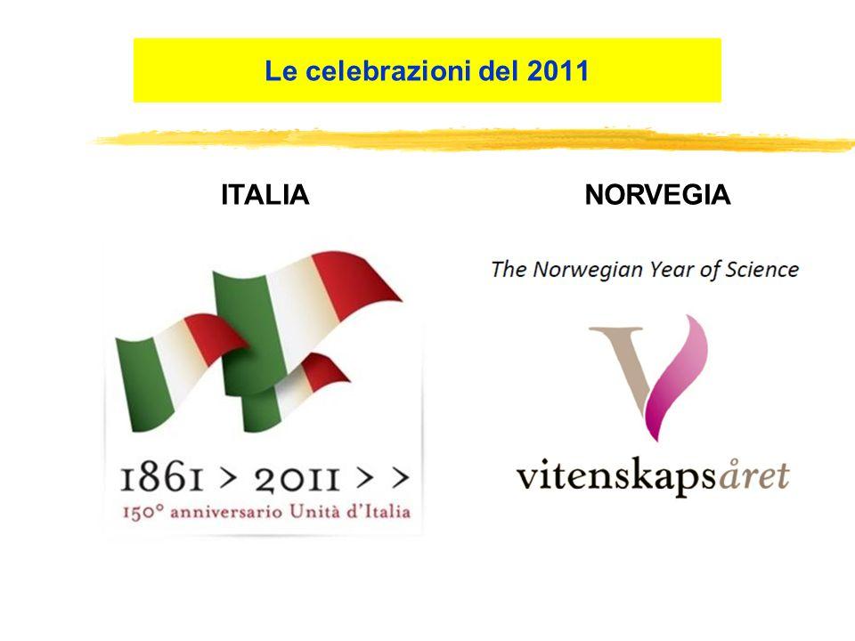 Le celebrazioni del 2011 ITALIANORVEGIA