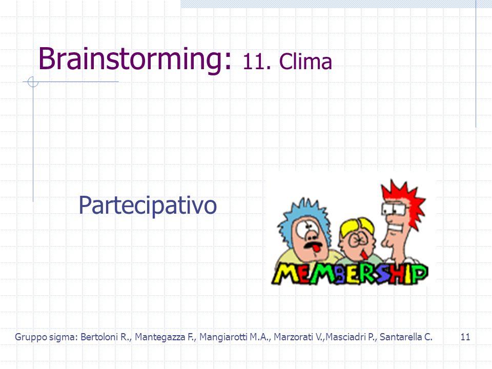 Gruppo sigma: Bertoloni R., Mantegazza F., Mangiarotti M.A., Marzorati V.,Masciadri P., Santarella C.