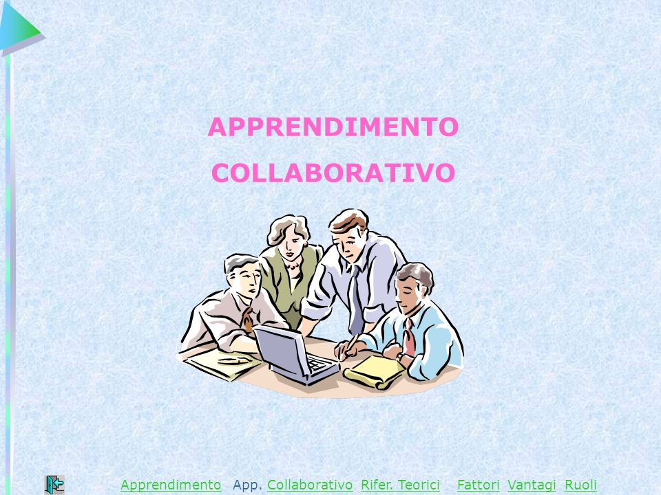 ApprendimentoApprendimento App. Collaborativo Rifer.