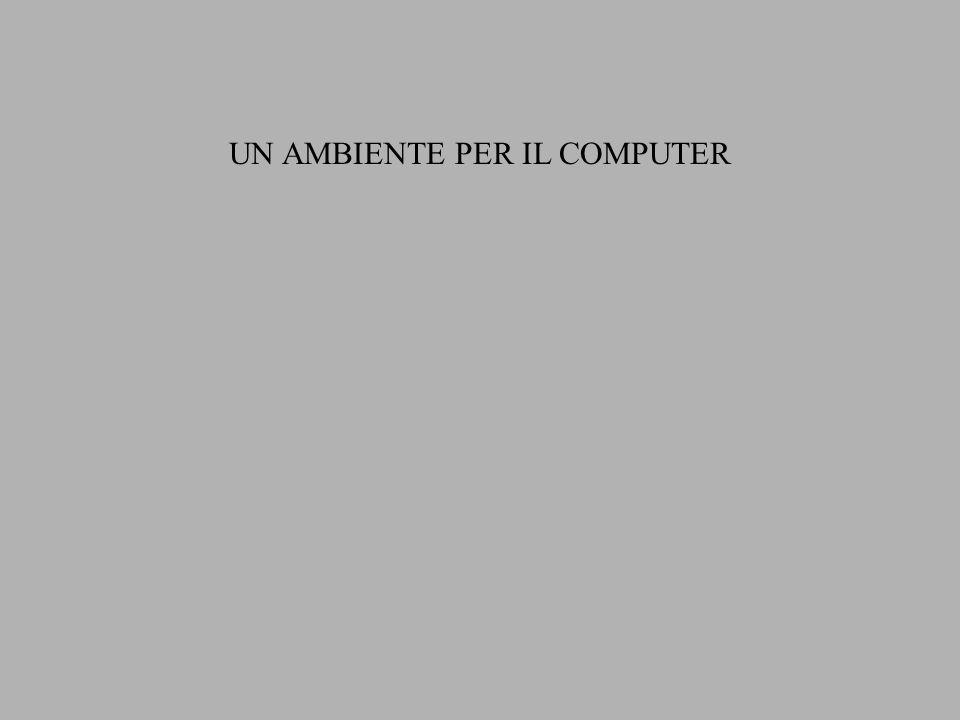 UN AMBIENTE PER IL COMPUTER