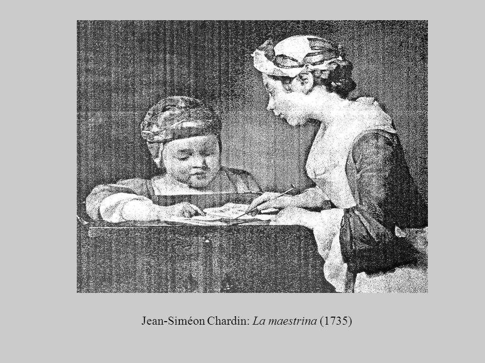 Jean-Siméon Chardin: La maestrina (1735)