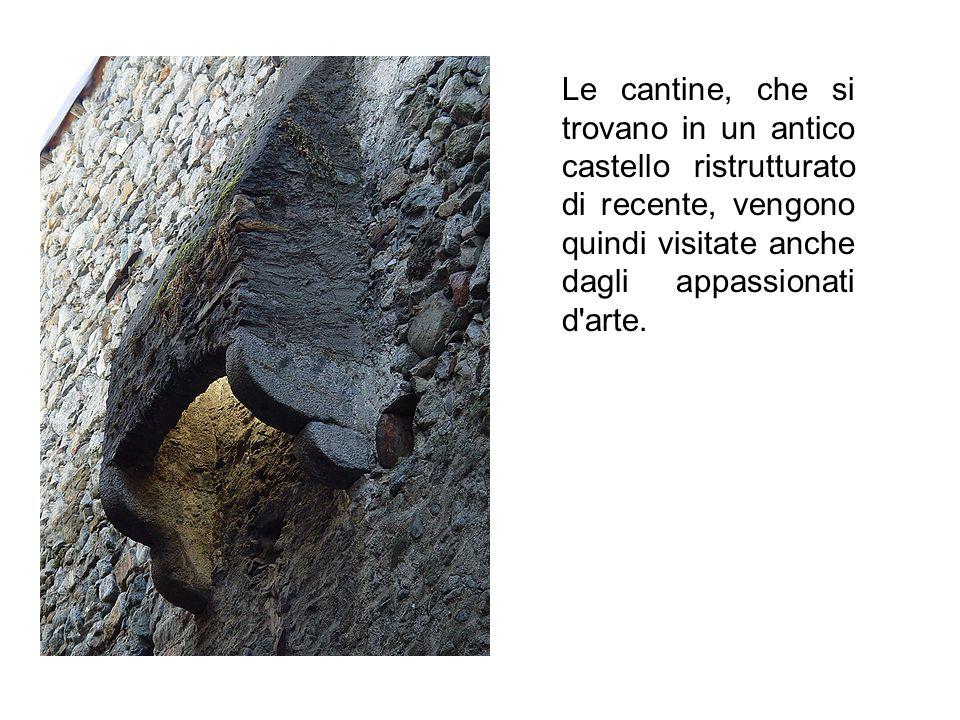 Le cantine, che si trovano in un antico castello ristrutturato di recente, vengono quindi visitate anche dagli appassionati d'arte.