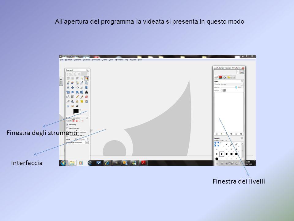 ….dandogli unestensione PNG, che non ha le molte limitazioni tecniche tipiche del formato JPG: può memorizzare immagini in colori reali (mentre il GIF era limitato a 256 colori)e ha un canale dedicato per la trasparenza (canale alfa).