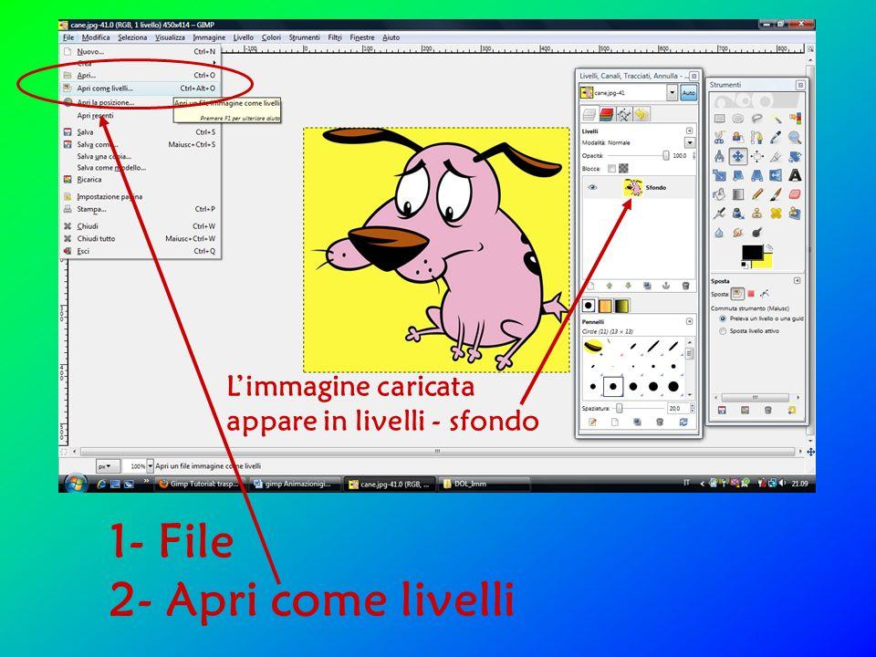Selezionare insieme le 3 immagini: - tasto Shift (o Ctrl) e click del mouse (o freccia) - Apri o tasto Invio